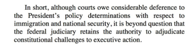 Text reminding the reader of the federal court's authority in Constitutional matters