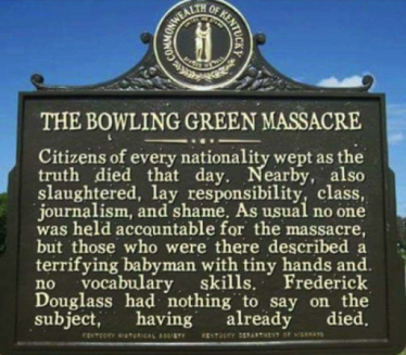 Bowling Green Massacre historical marker