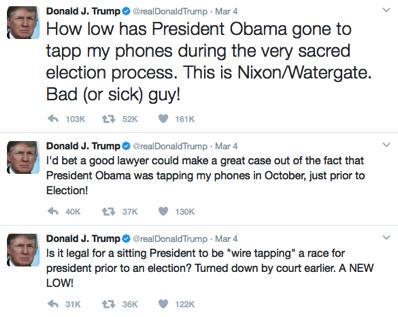 Another Trump tweet