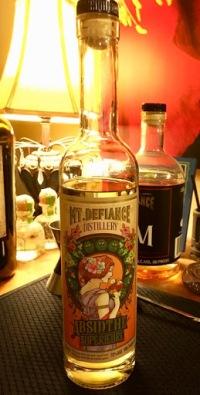 A bottle of absinthe