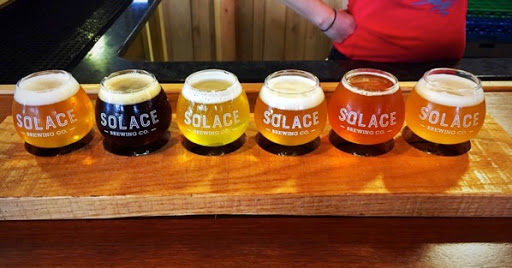 Solace Brewing Company's beers